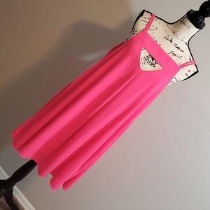 Fun Hot pink summer dress!!